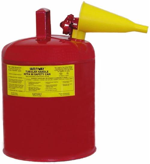 Safety Gas Can >> Type I Safety Gas Can 5 Gallon Safsc1050